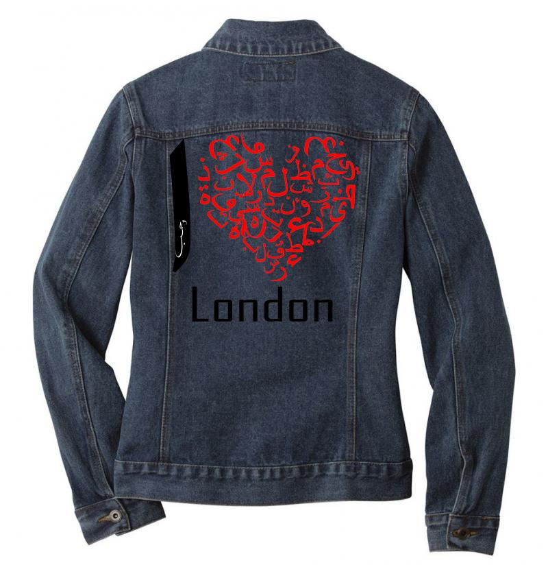 Love London 7 Ladies Denim Jacket | Artistshot