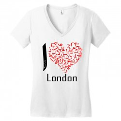 love london 7 Women's V-Neck T-Shirt | Artistshot