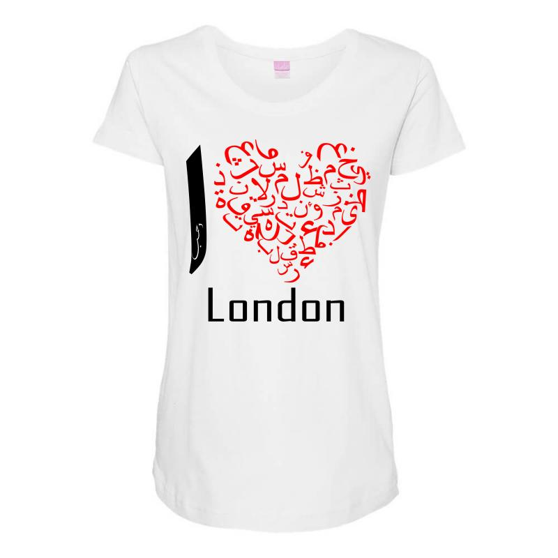 Love London 7 Maternity Scoop Neck T-shirt | Artistshot