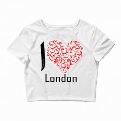 love london 7 Crop Top | Artistshot