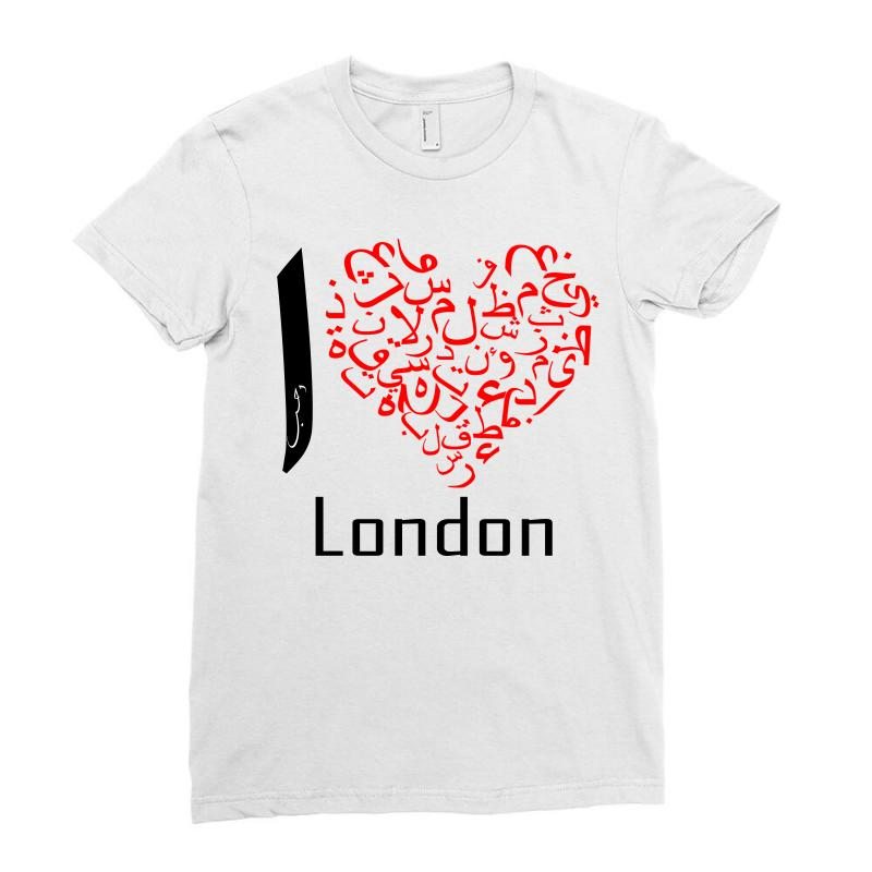 Love London 7 Ladies Fitted T-shirt | Artistshot