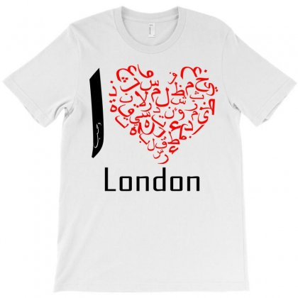 Love London 7 T-shirt Designed By Nowlam