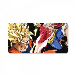 goku vs luffy License Plate | Artistshot