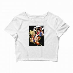 goku vs luffy Crop Top | Artistshot