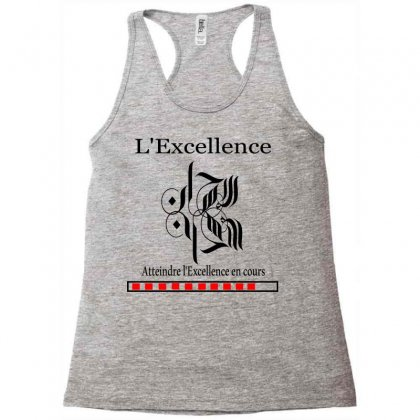 L'excellence7 Racerback Tank Designed By Nowlam