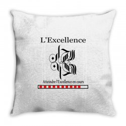 l'excellence7 Throw Pillow | Artistshot