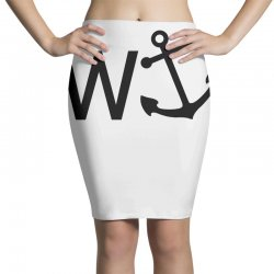 w anchor Pencil Skirts | Artistshot