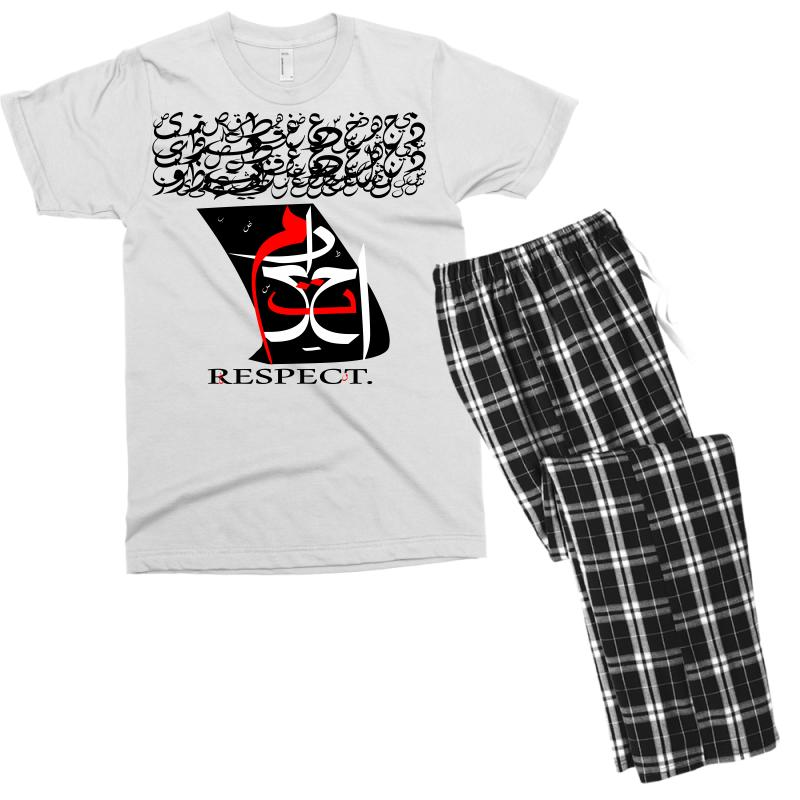 Respect 9 Men's T-shirt Pajama Set | Artistshot
