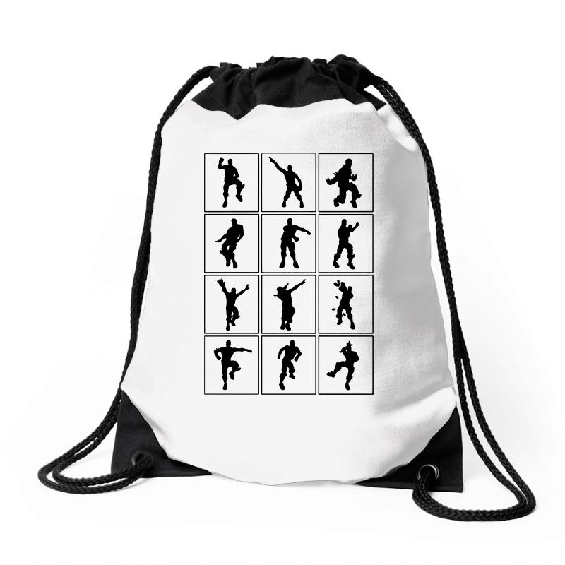 Fortnite Emotes Drawstring Bags | Artistshot