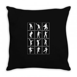 fortnite emotes Throw Pillow | Artistshot