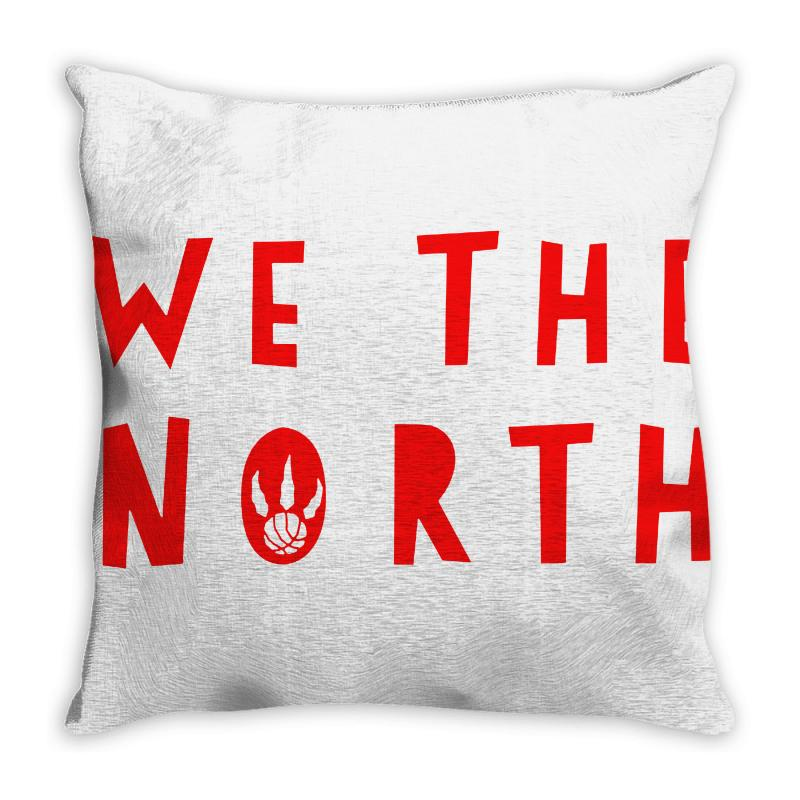 We The North Throw Pillow | Artistshot