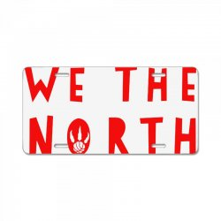 we the north License Plate | Artistshot