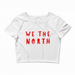 we the north Crop Top | Artistshot