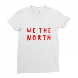 we the north Ladies Fitted T-Shirt   Artistshot