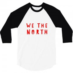 we the north 3/4 Sleeve Shirt | Artistshot