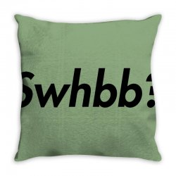 swhbb logo Throw Pillow | Artistshot