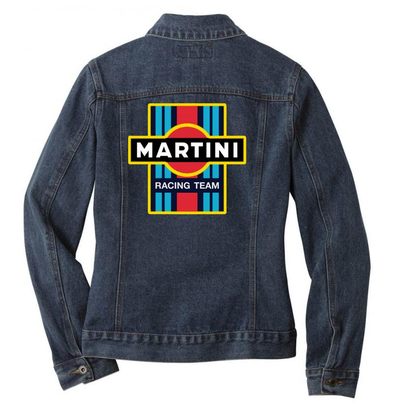 Martini Racing Team Ladies Denim Jacket | Artistshot