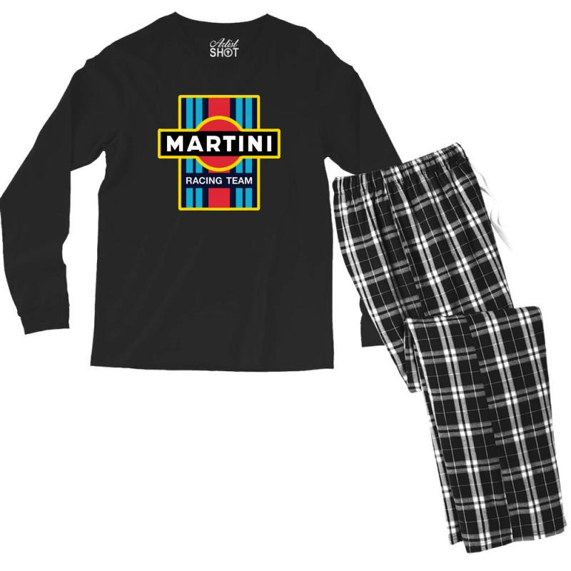 Martini Racing Team Men's Long Sleeve Pajama Set | Artistshot