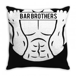 bar brothers Throw Pillow | Artistshot