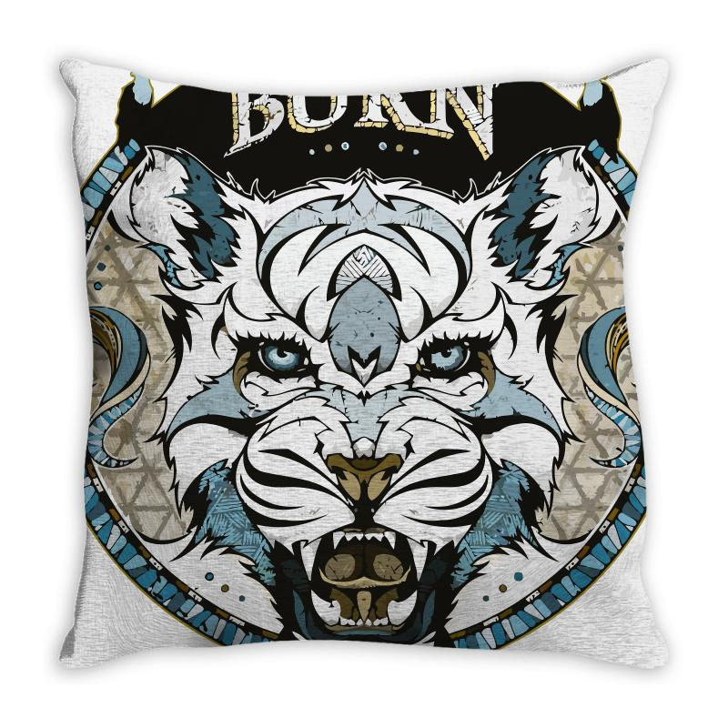 Burn T Shirt Throw Pillow | Artistshot