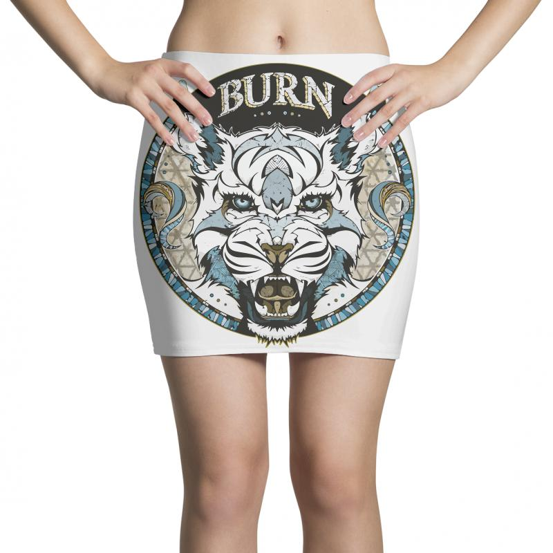 Burn T Shirt Mini Skirts | Artistshot