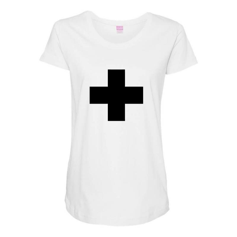 Garrix + Maternity Scoop Neck T-shirt | Artistshot