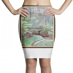 landscape Pencil Skirts | Artistshot