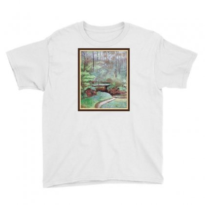 Landscape Youth Tee Designed By Keiart