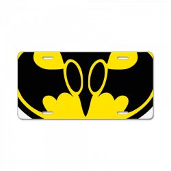 bat invader License Plate | Artistshot