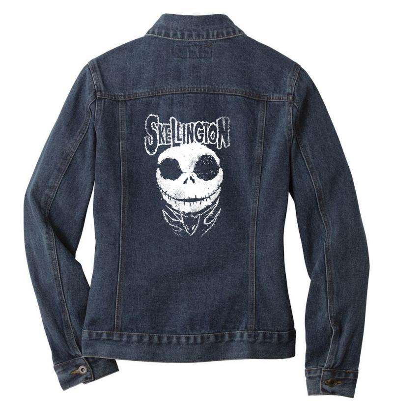 Christmisfit Ladies Denim Jacket | Artistshot