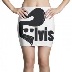 elvis new logo Mini Skirts | Artistshot