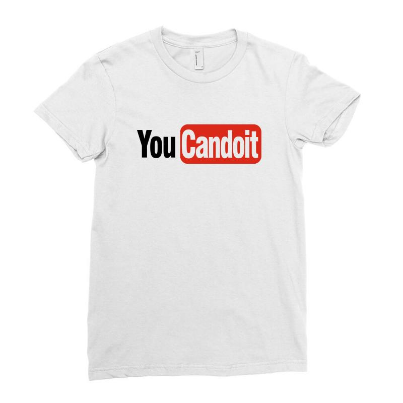 You Can Do It Ladies Fitted T-shirt | Artistshot