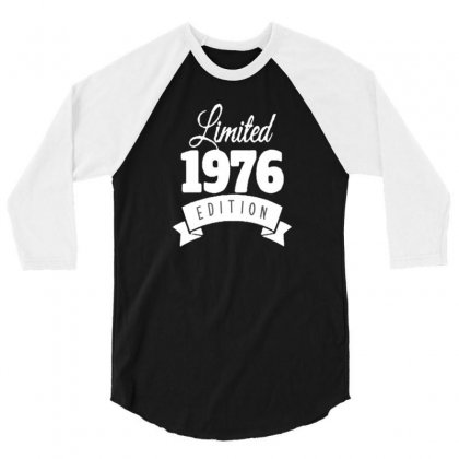 1976 3/4 Sleeve Shirt Designed By Disgus_thing