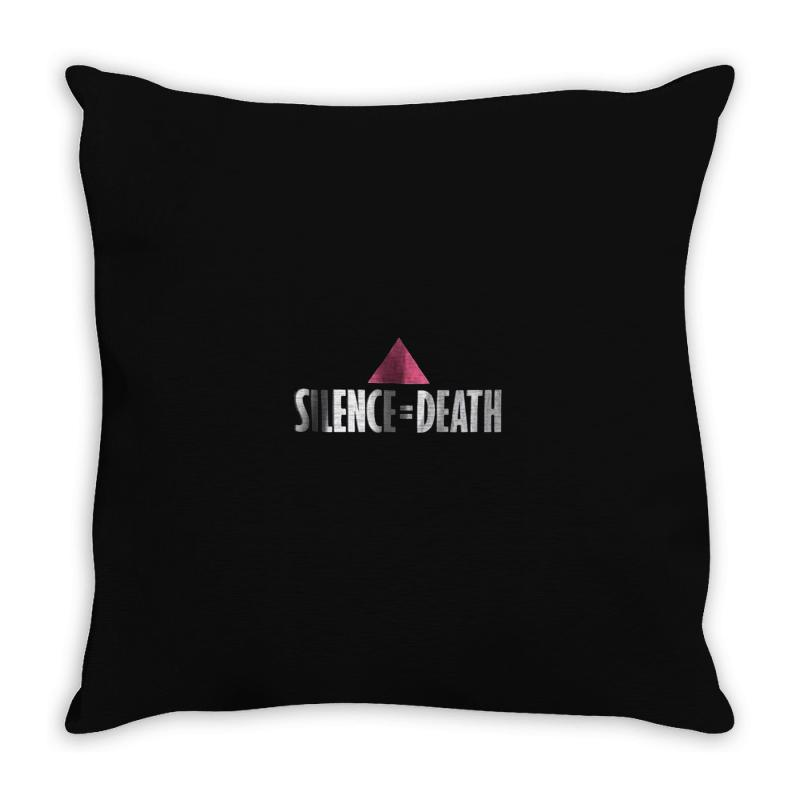Slience Death Throw Pillow | Artistshot