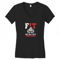 fit we all Women's V-Neck T-Shirt | Artistshot