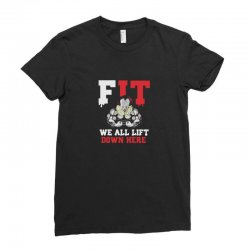 fit we all Ladies Fitted T-Shirt | Artistshot