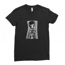 skull woman Ladies Fitted T-Shirt | Artistshot