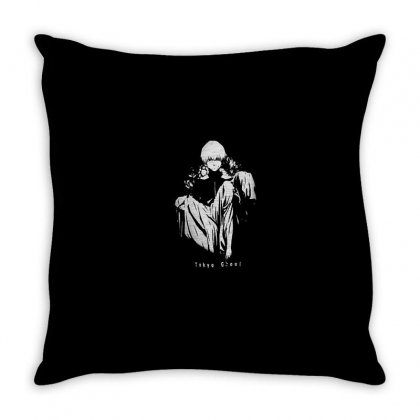 Tokyo Ghoul Throw Pillow Designed By Disgus_thing