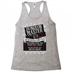 Dungeon Master, The Weaver of Lore & Fate Racerback Tank | Artistshot