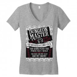 Dungeon Master, The Weaver of Lore & Fate Women's V-Neck T-Shirt | Artistshot