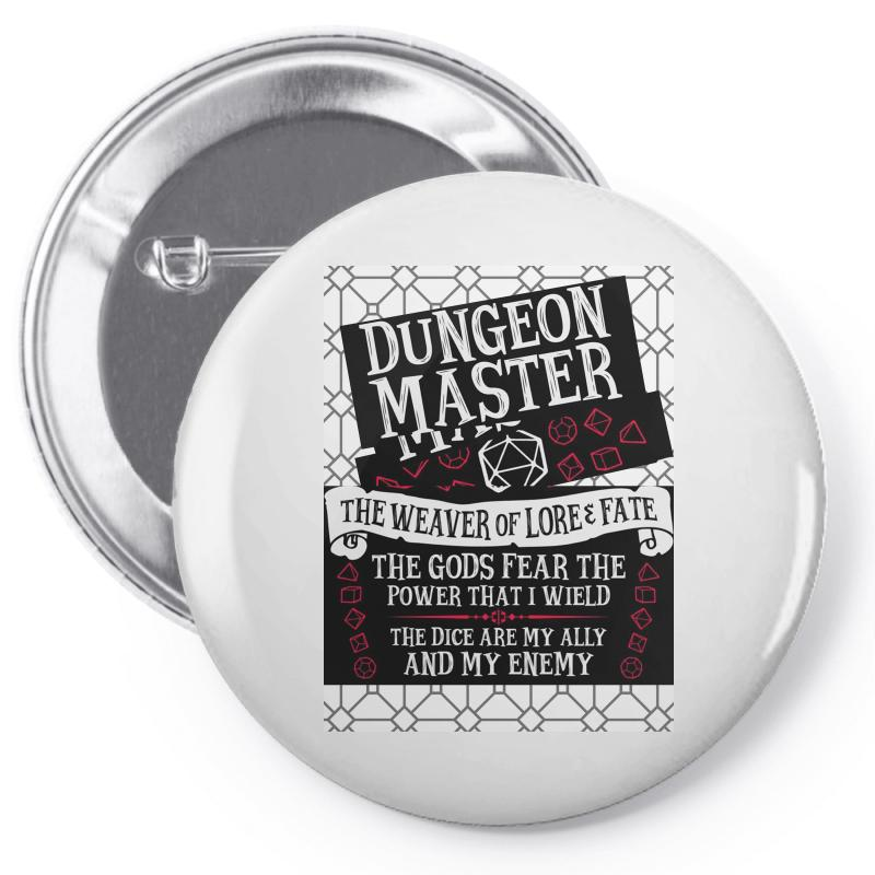 Dungeon Master, The Weaver Of Lore & Fate Pin-back Button | Artistshot
