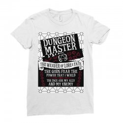 Dungeon Master, The Weaver of Lore & Fate Ladies Fitted T-Shirt | Artistshot