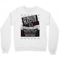 Dungeon Master, The Weaver of Lore & Fate Crewneck Sweatshirt | Artistshot