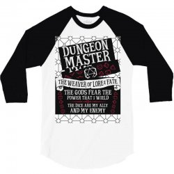 Dungeon Master, The Weaver of Lore & Fate 3/4 Sleeve Shirt | Artistshot