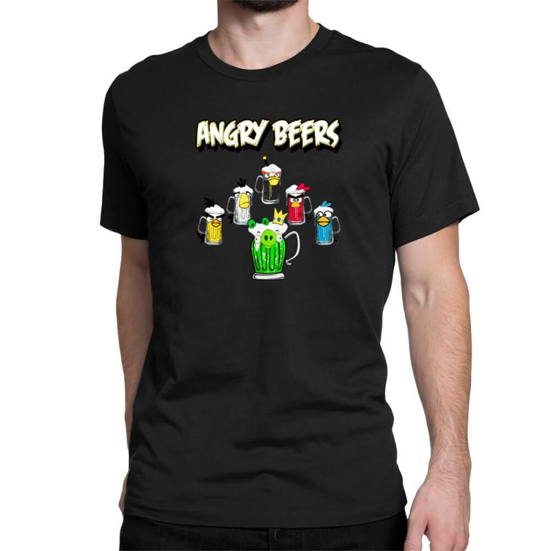 Angry Beers Classic T-shirt | Artistshot