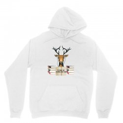 Yes Mama I Am Studying Right Now, Deer Unisex Hoodie | Artistshot