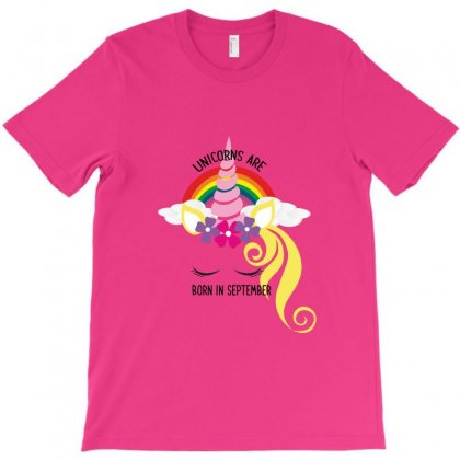 Unicorns Are Born In September T-shirt Designed By Bettercallsaul