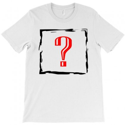 Question Mark T-shirt Designed By Emadaldeans