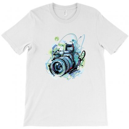 Camera T-shirt Designed By Medo20555452