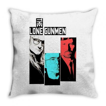 The Lone Gunmen Throw Pillow Designed By Gurkan